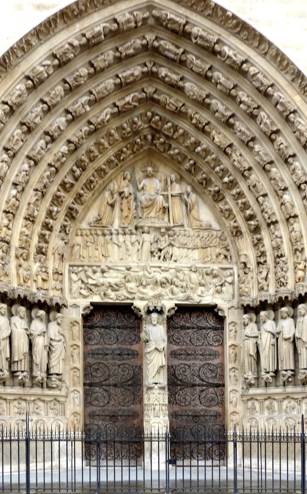 The Cathedral Of Notre Dame Paris Restored By Eug 232 Ne