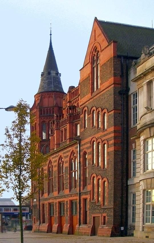 Victoria Building University Of Liverpool By Alfred