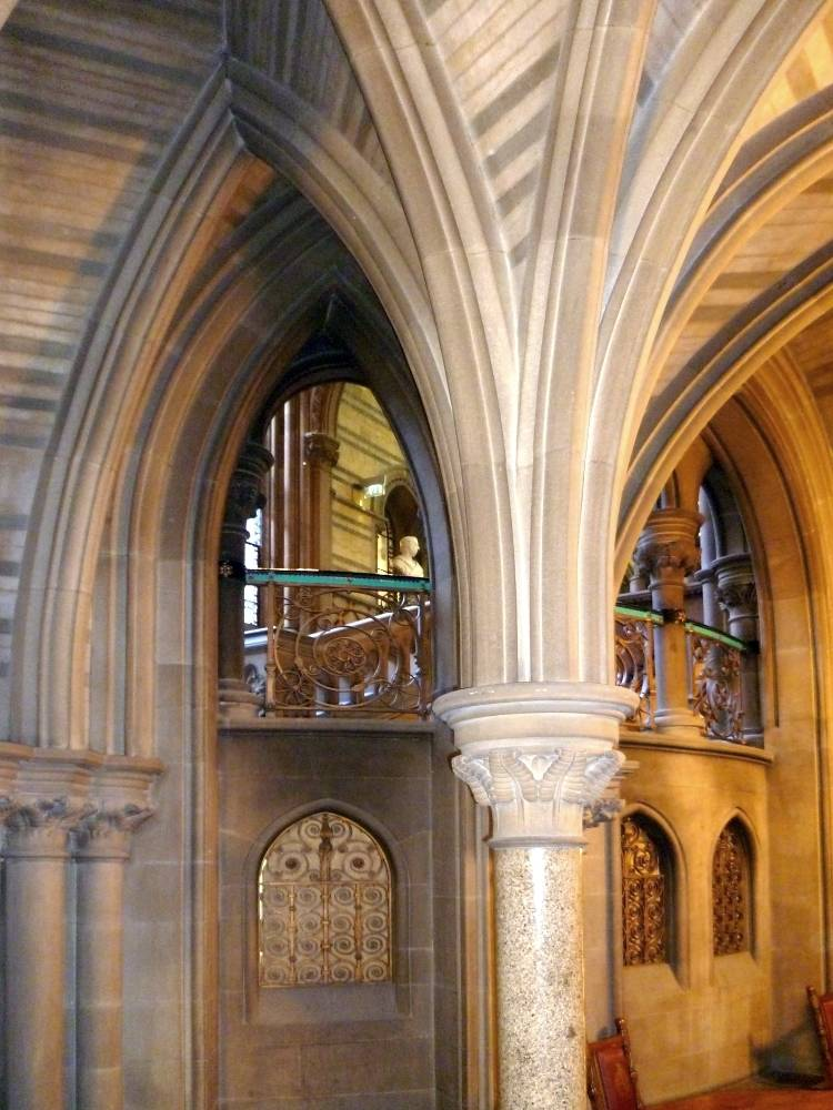 Interior Of Manchester Town Hall By Alfred Waterhouse A