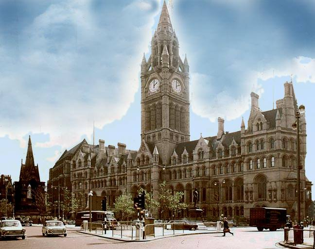Manchester Town Hall By Alfred Waterhouse 1830 1905