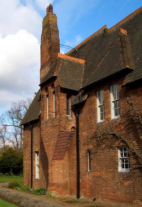 William Morris S Red House By Philip Speakman Webb