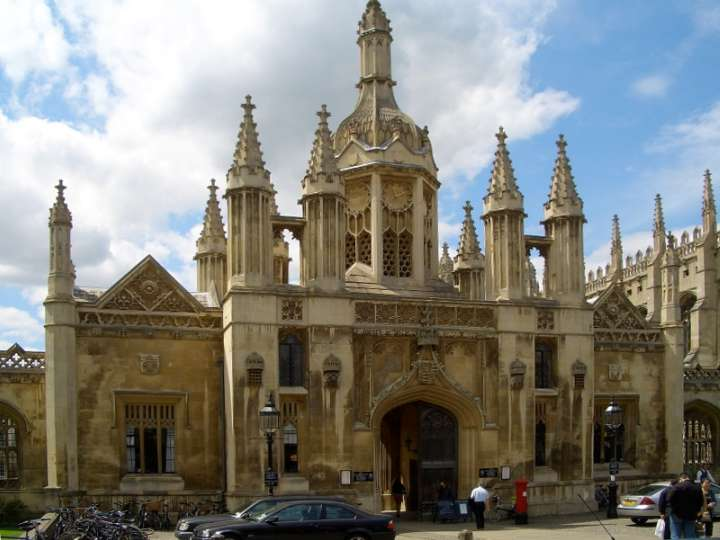King's College Cambridge gatehouse by William Wilkins