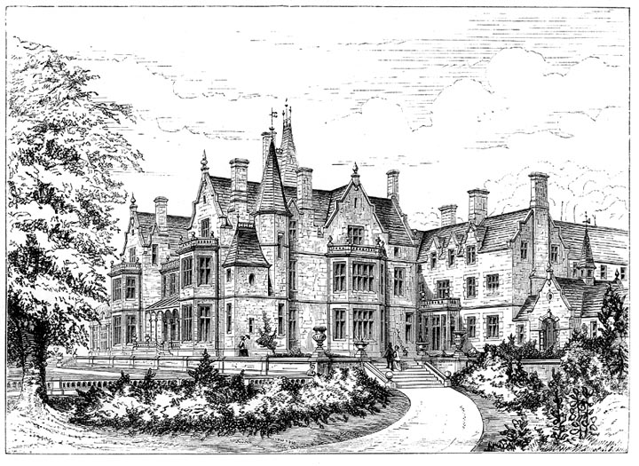 The English Country House New And Improved