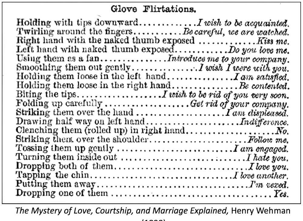 Victorian women etiquette