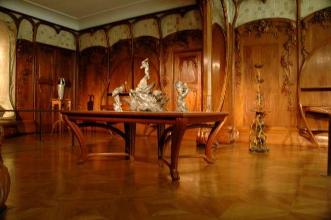 art nouveau furniture designers. Art Nouveau panelling