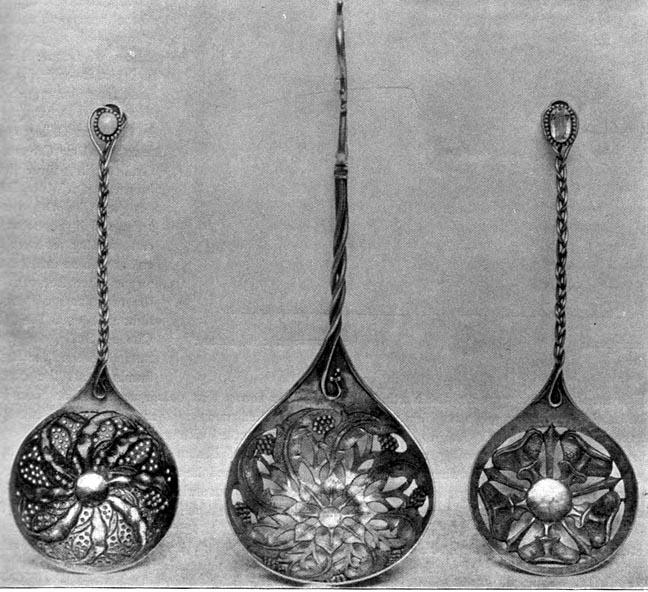 Guild of Handicrafts Spoon Guild of Handicraft c