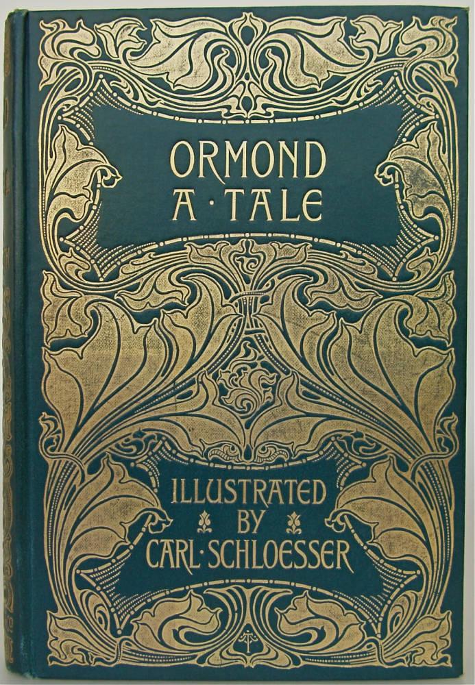 Book Cover Art Nouveau ~ Cover design by a turbayne for maria edgeworth s ormond