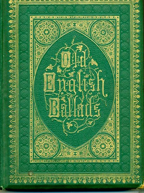 Binding for Old English Ballads John Leighton designer