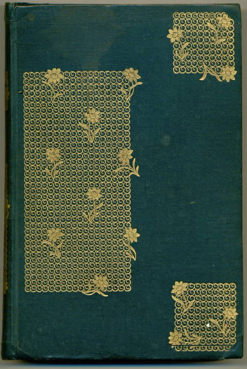 Embossing Fabric Book Cover : Rossetti s poems