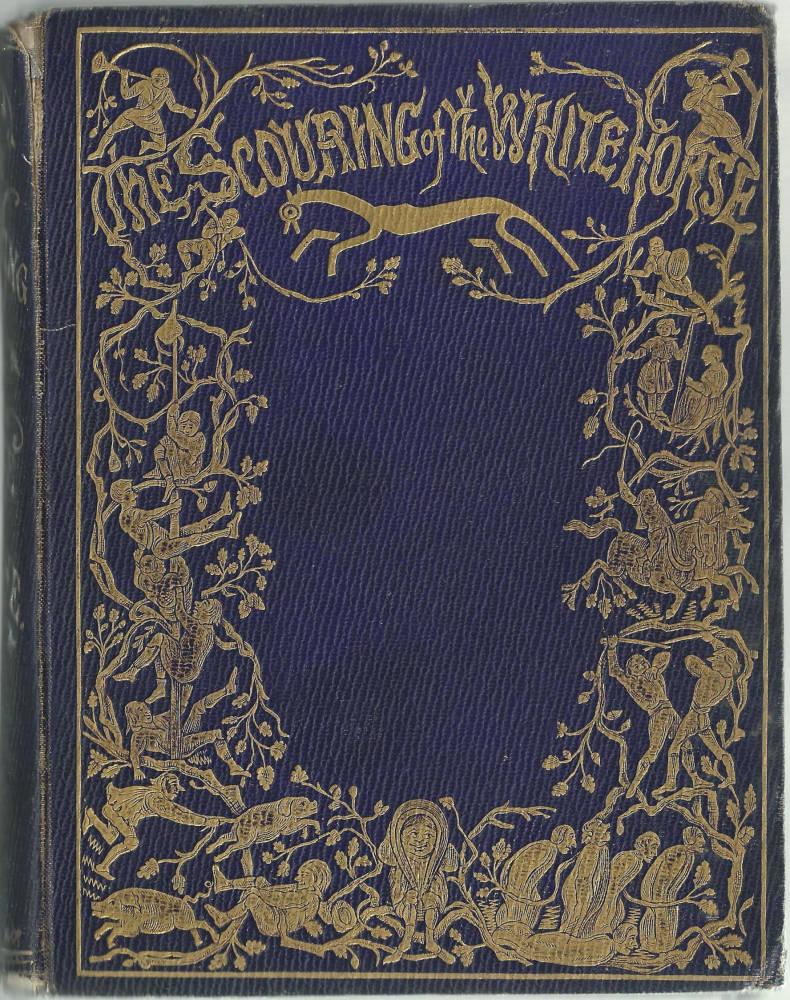 Vintage Book Cover Designs : Victorian book illustrators as cloth designers
