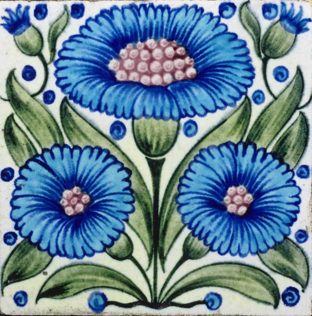 Victorian Tiles By William De Morgan
