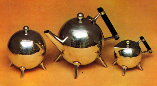 A Shiny Tea Set