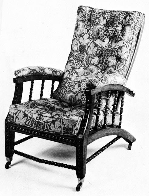 Adjustable Chair Morris Chair By John Pollard Seddon - William morris chairs