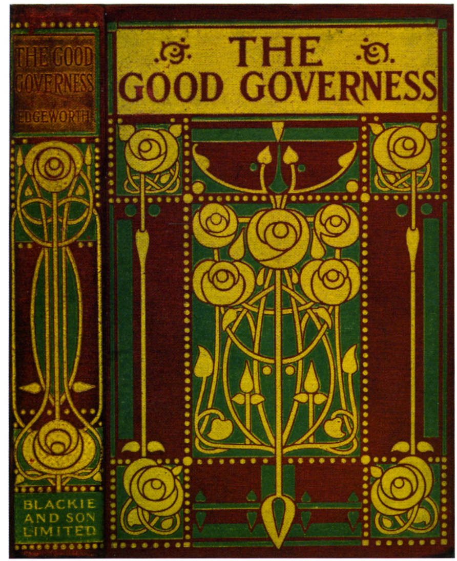 Book Cover Design Glasgow : Cover design for maria edgeworth s quot the good governess by