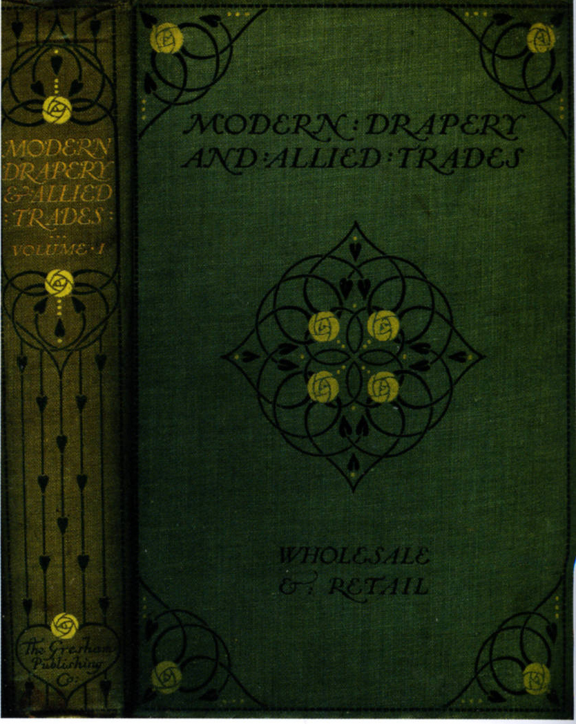 Book Cover Design Glasgow : Cover design for murphy s quot modern drapery and allied