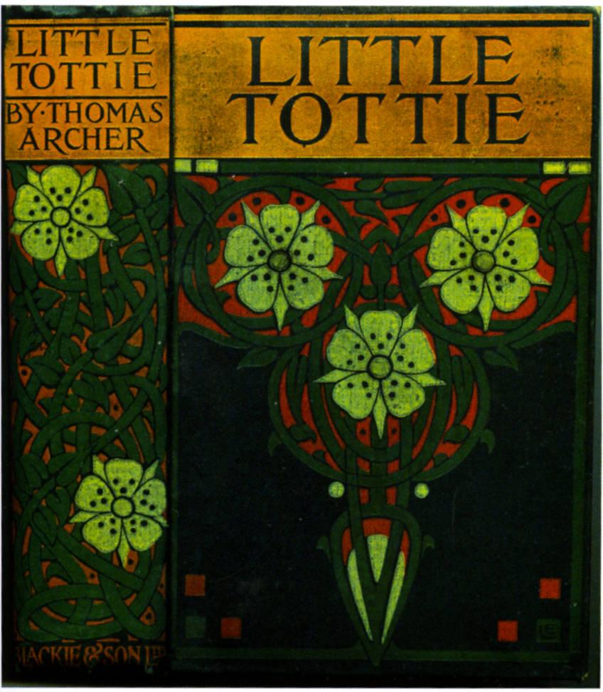 Book Cover Design Glasgow : Cover design for thomas archer s quot little tottie by ethel