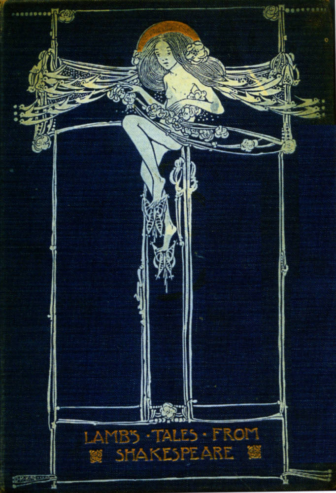Book Cover Design Glasgow : Binding lamb s quot tales from shakespeare by jessie m