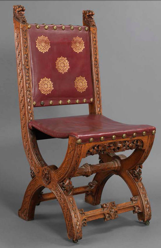 Princes Chamber Chair Designed By A W N Pugin
