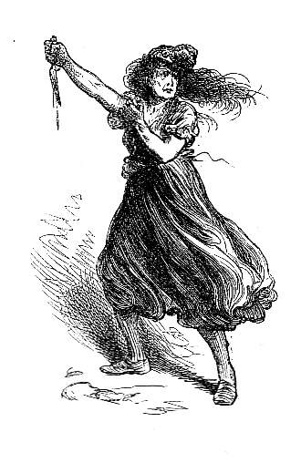 an analysis of the characters miss pross and madame defarge in a tale of two cities by charles dicke Characters in a tale of two cities had the capacity to love purely,  miss pross later comments to mr lorry that   madame defarge loved these people,.