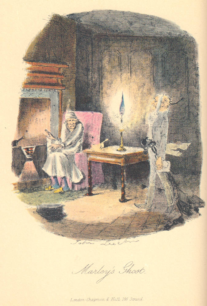 A Gallery of John Leech's Illustrations for Dickens's A Christmas ...
