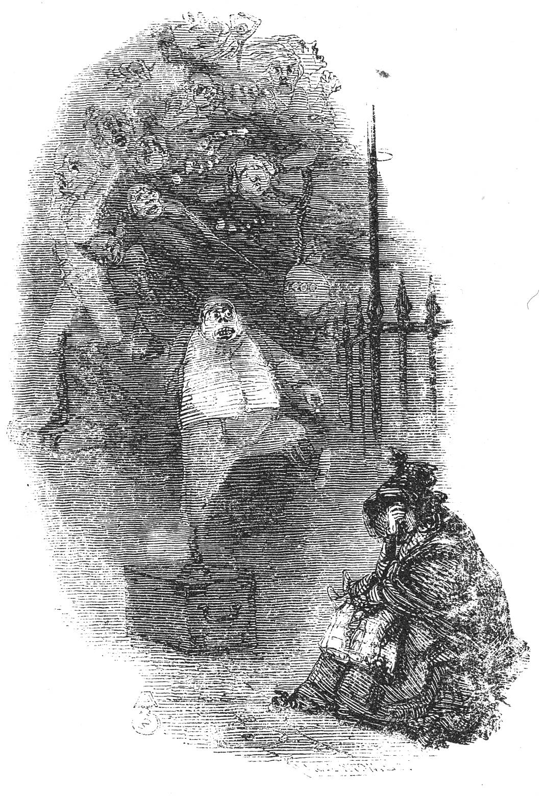 Who Wrote A Christmas Carol.A Gallery Of John Leech S Illustrations For Dickens S A