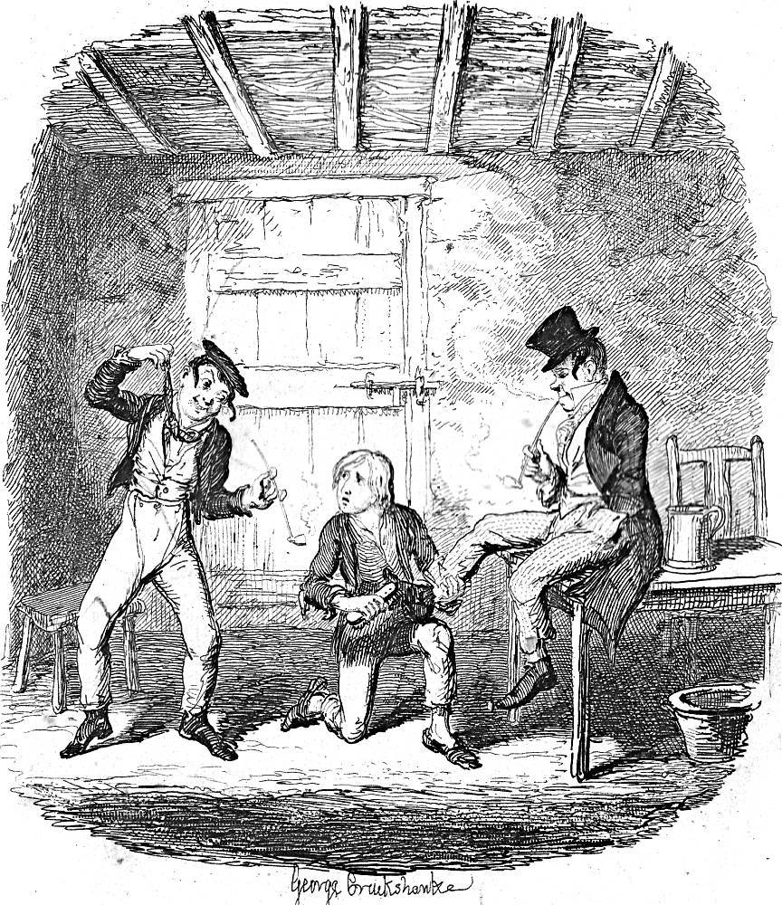 the artful dodger and charley bates fifth illustration for relevant illustrations from the serial edition 1838 household edition 1871 and charles dickens library edition 1910