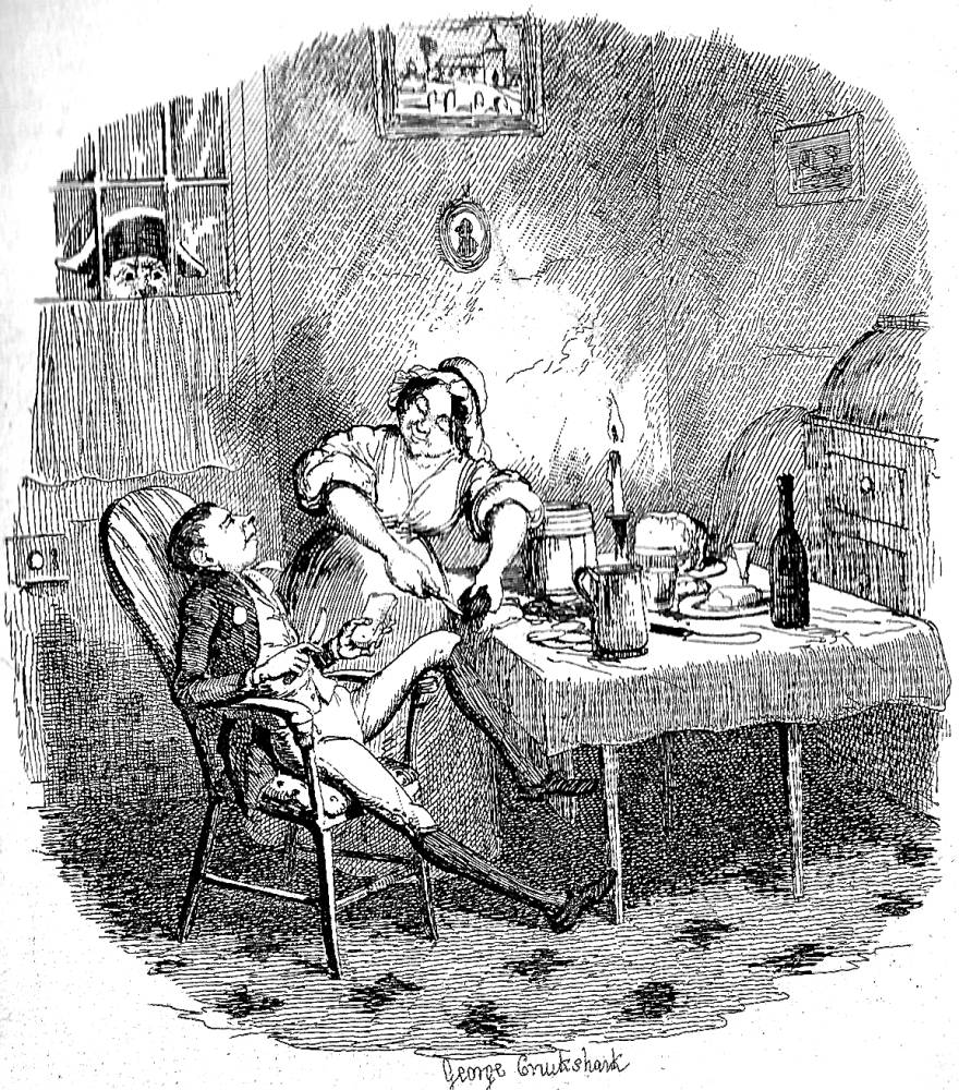 bumble surprises noah and charlotte by harry furniss diamond edition 1867 household edition 1871 the robson kerslake edition 1896 and kyd s character studies from dickens 1890 1910