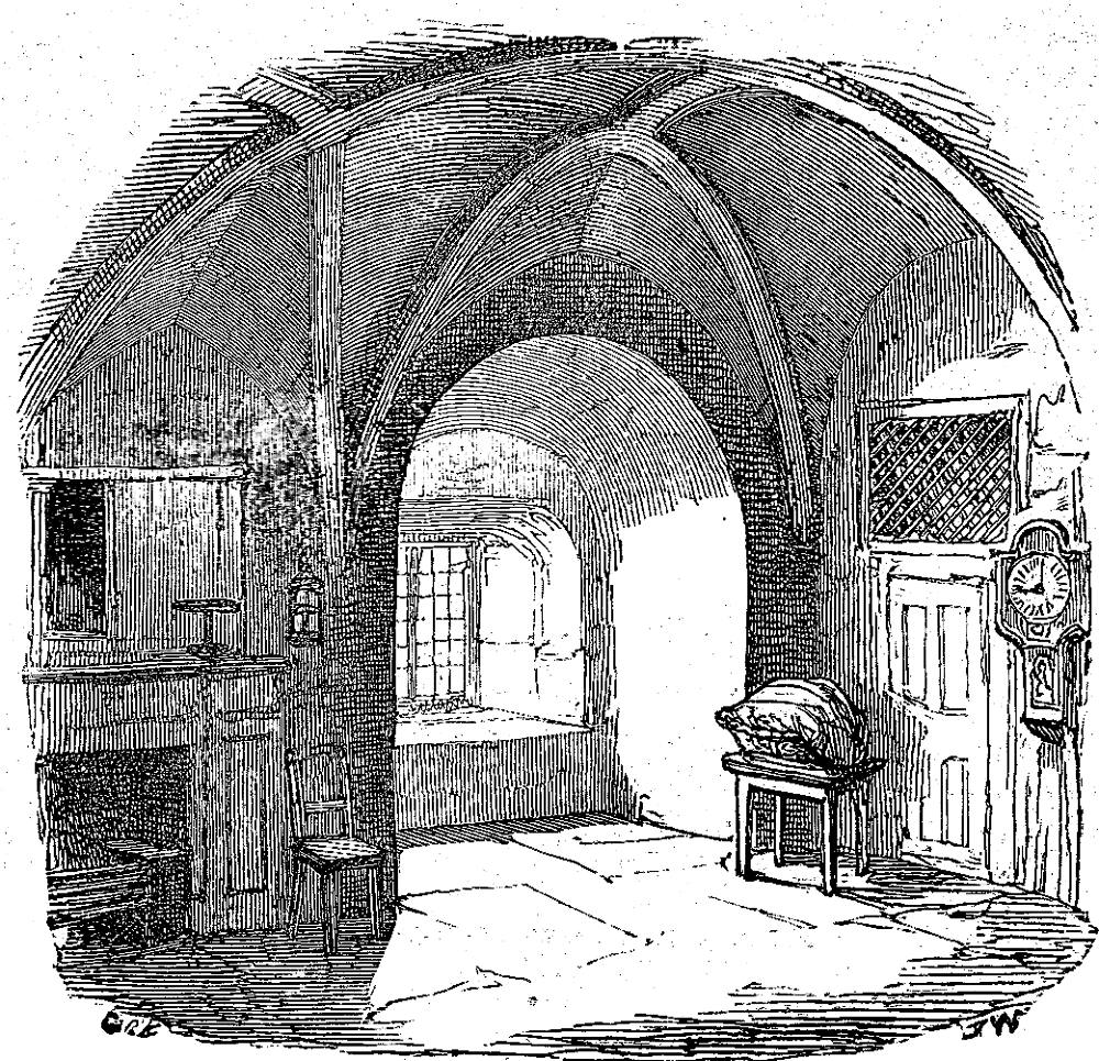 "Victorian Basement: ""Interior Of The Devlin Tower"