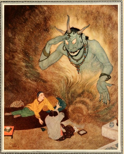 Tales of Faerie: History of Aladdin