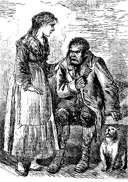 nancy by charles pears third illustration for the adventures illustrations from the original 1837 38 serial publication and later editions