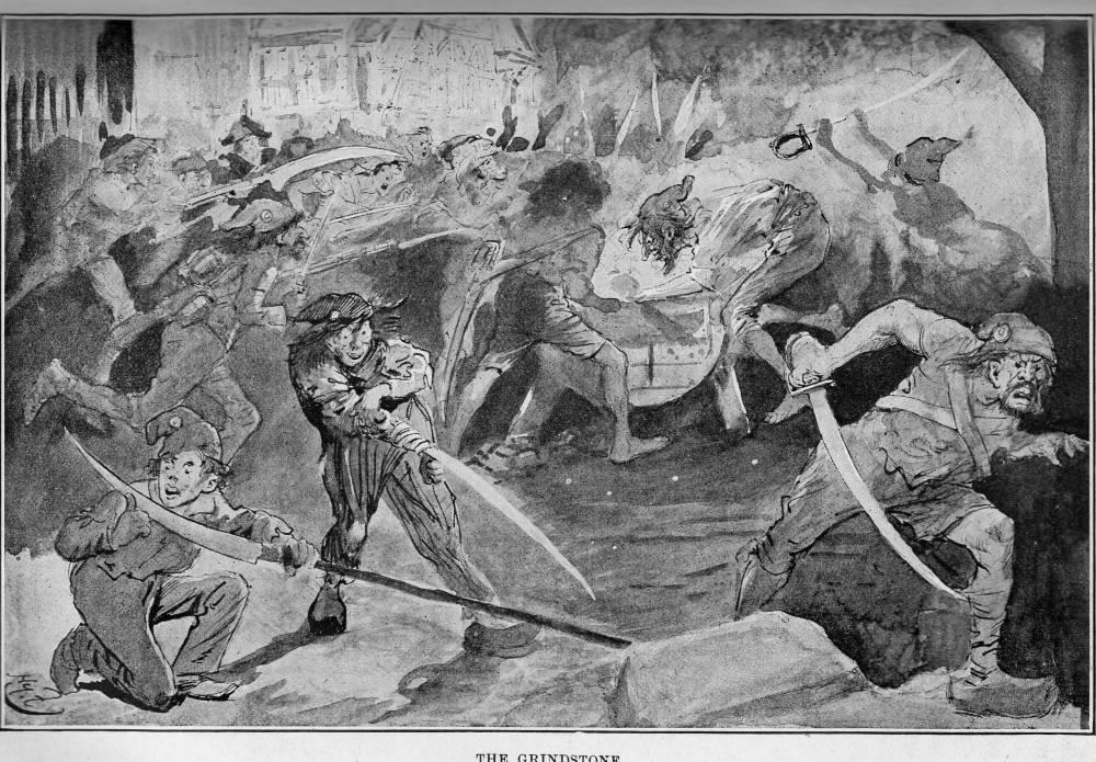 The Grindstone Harry Furnisss Twenty Fifth Illustration For A