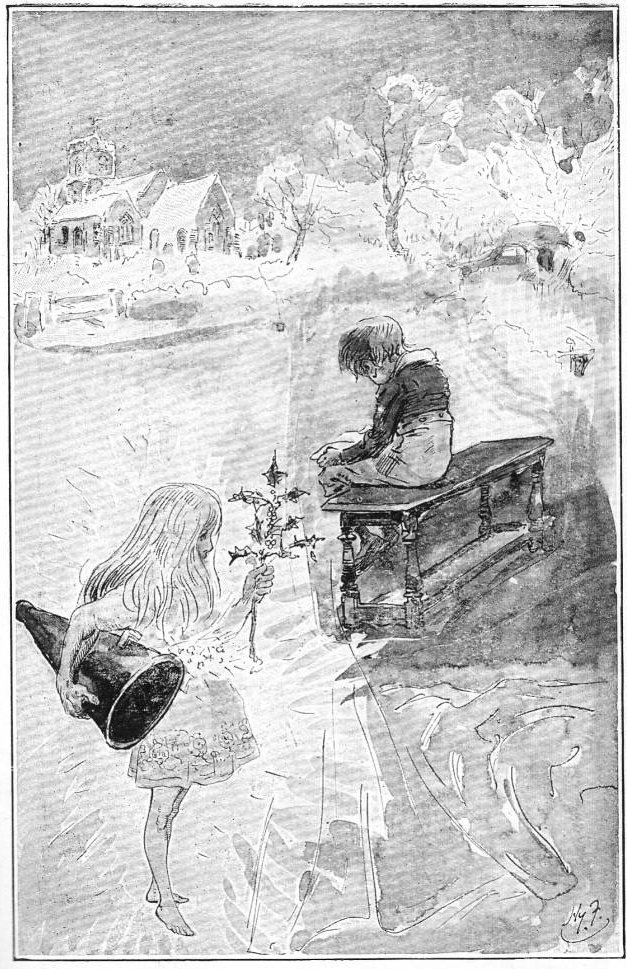 Scrooge Extinguishes The First Of The Three Spirits By John Leech