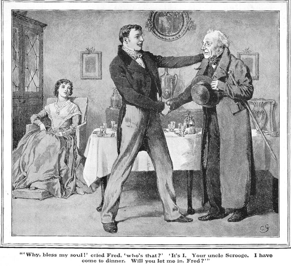 Illustrations Of Dickens S A Christmas Carol By Charles