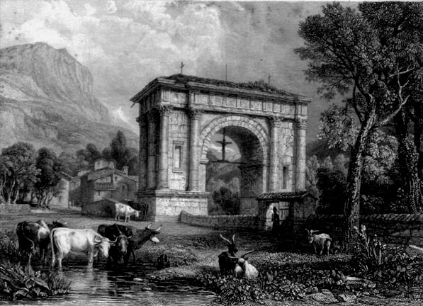 Entrance to Aosta