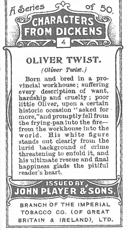 oliver twist tobacco
