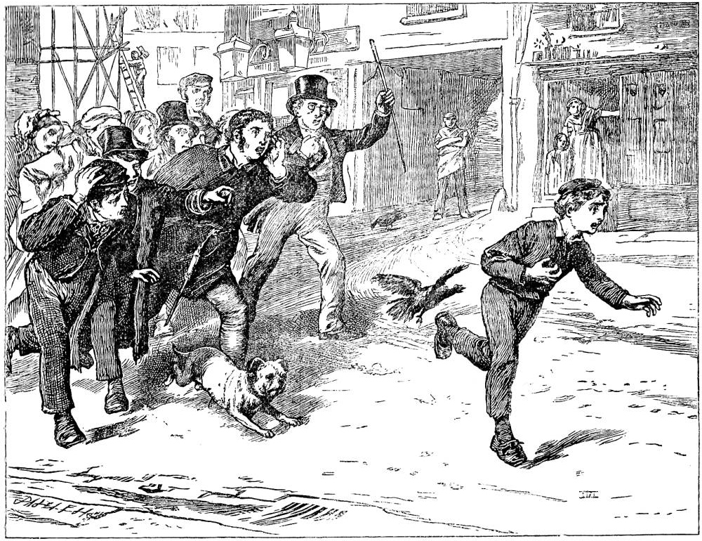 stop thief james mahoney s seventh illustration for dickens s  james mahoney s seventh illustration for dickens s adventures of oliver twist