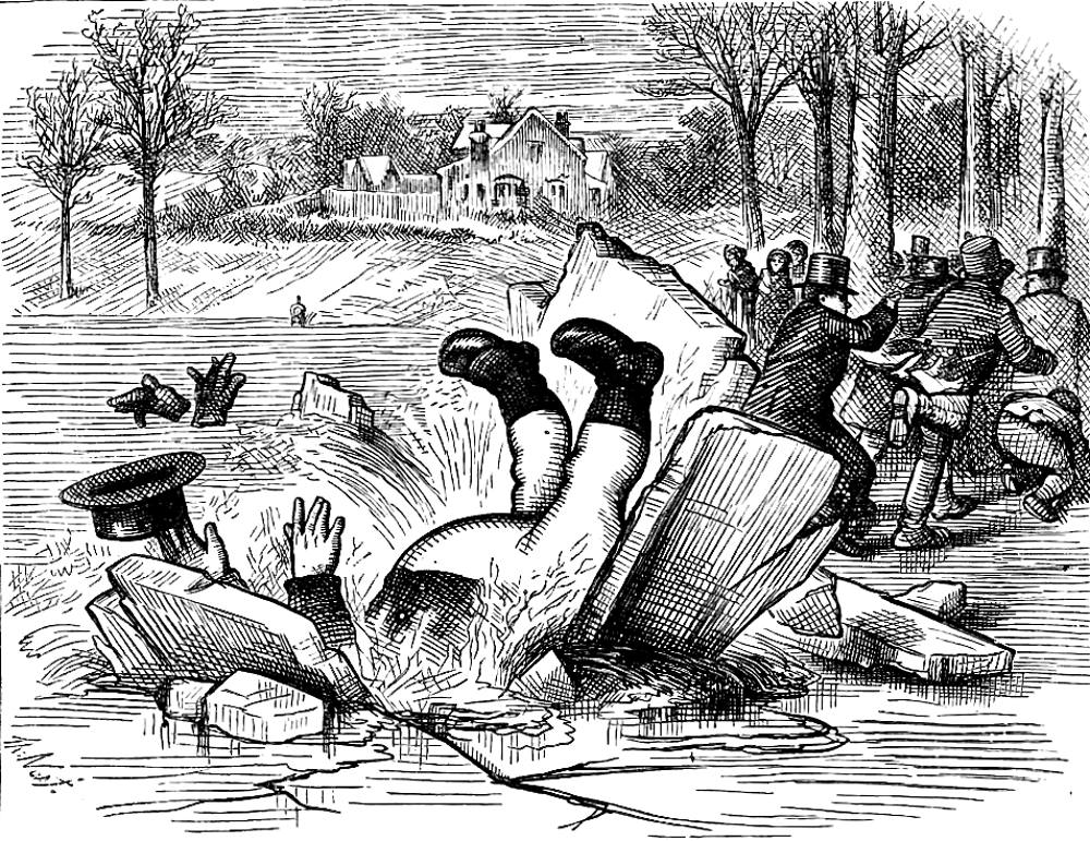 thomas nast essay On october 10, 1868, nast published a cartoon that was one of the first in a series over a number of years dealing with the plight of the freed slaves, the rise of.