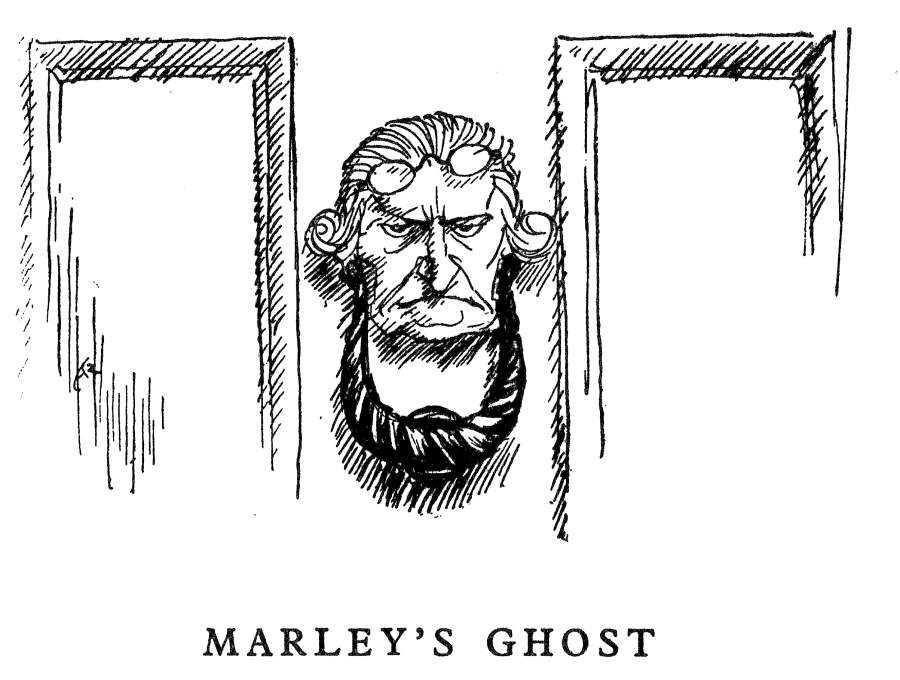 Quot The Ghostly Knocker Quot By Harry Furniss Fourth