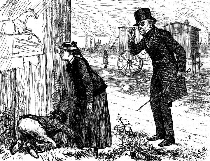 "the hidden messages of charles dickens in the novel hard times It promised to be an ""authentic"" re-creation of the london of charles dickens's novels, complete with soot, pickpockets, cobblestones, gas lamps, animatronic dickens characters and ."