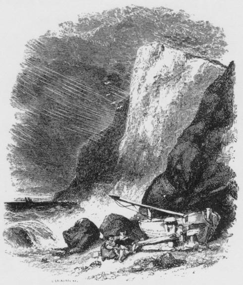 illustration for tennyson s break break break by clarkson  illustration for tennyson s break break break by clarkson stanfield ra