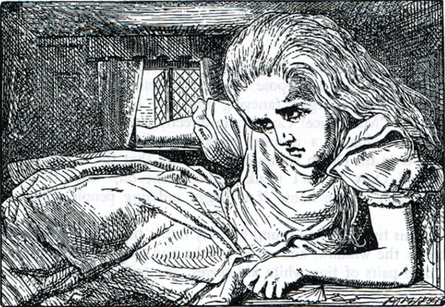 Engraving of Alice