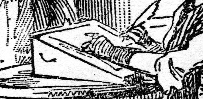 victorian writing desk plans