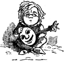 Thackeray's self-caricature