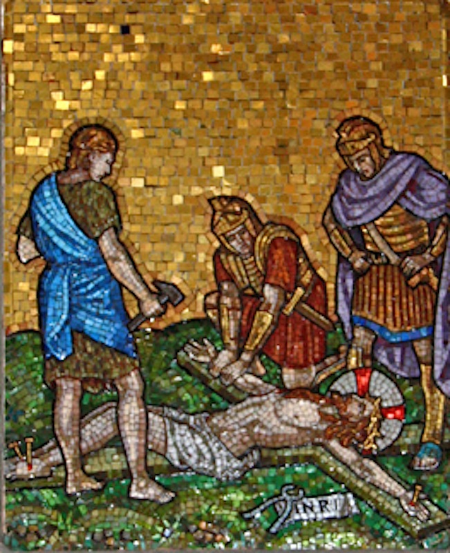 Jesus is Nailed to the Cross\