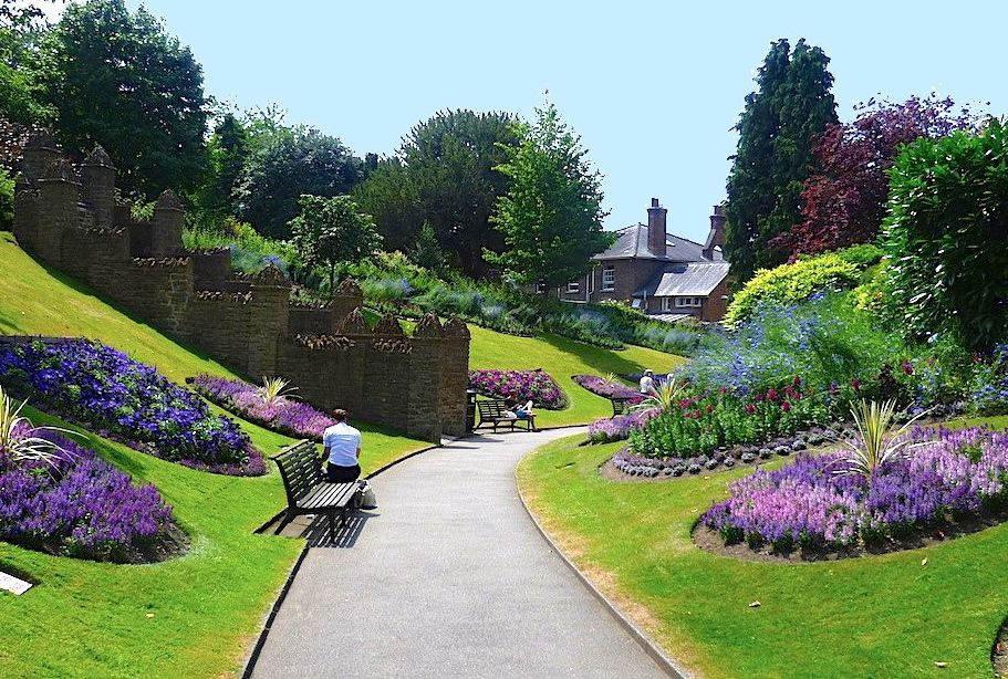 Guildford Castle Grounds, Guildford, Surrey