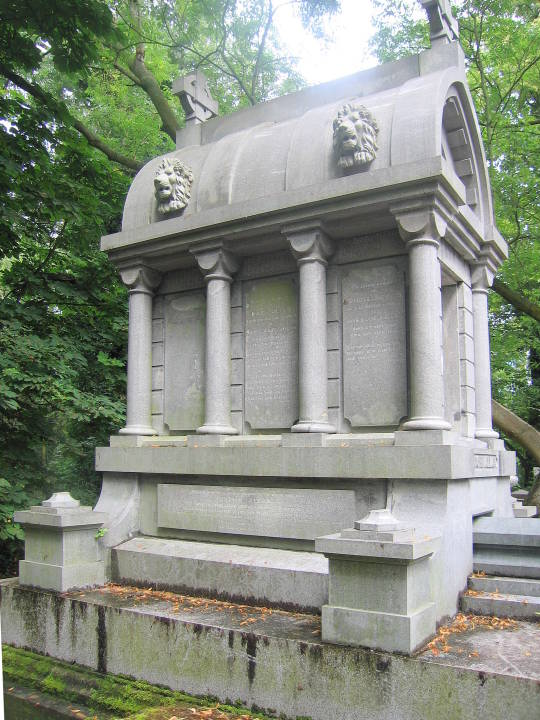 The Tomb of William Mulready, Kensal Green Cemetery, London