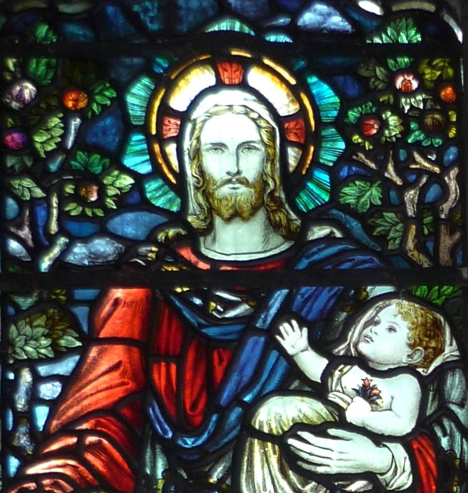 Jesus Carrying An Infant