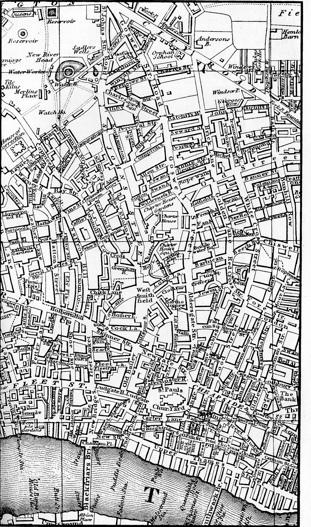 The London of Dickens's Lifetime: Maps and Landmarks