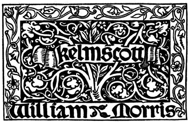 Morris and the kelmscott press for Arts and crafts movement graphic design
