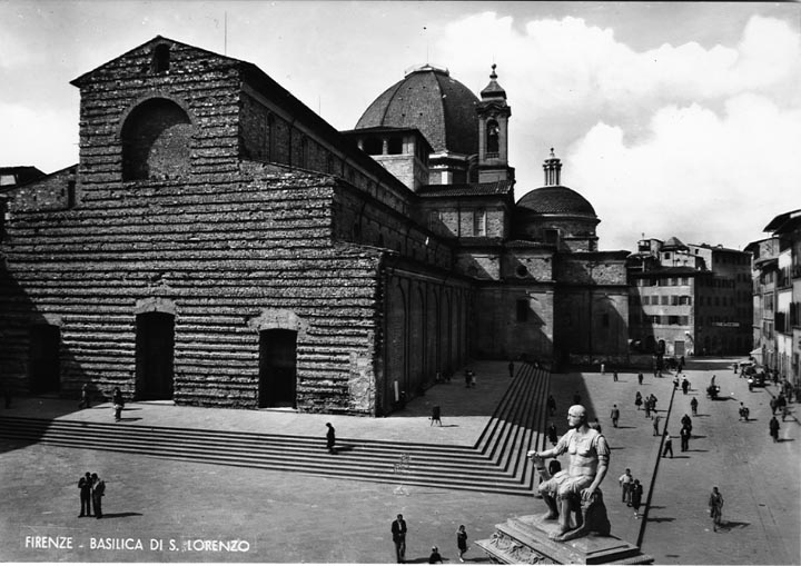 Basilica di San Lorenzo, Florence (mentioned by Browning
